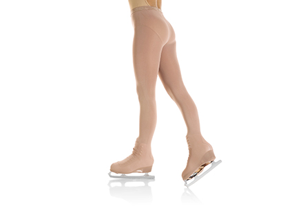 Mondor Evolution Boot Cover Ice Skating Tights 3338 Light Tan