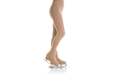 Mondor 3396 Matte Heavy Weight Ice Skating Tights OTB Light Tan