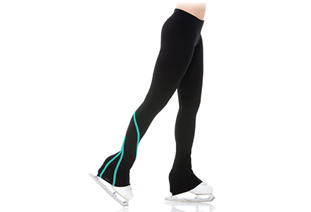 Mondor Skating Leggings with Contrast Stripes Scuba