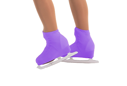 Lycra Boot Covers Lilac