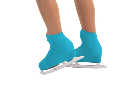 Lycra Boot Covers Turquoise