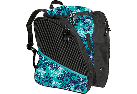 Transpack Snowflake Ice Skate Bag Teal