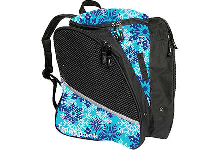Transpack Snowflake Ice Skate Bag Blue