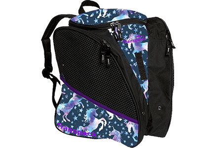Transpack Unicorn Ice Skate Bag Dark Unicorn