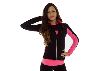 Thuono Performance Jacket Rosa Shocking