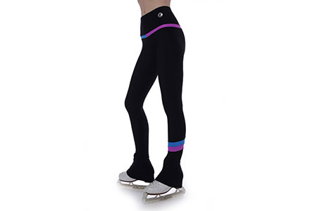 Thuono Rainbow 3 Figure Skating Leggings Pegaso / Surf