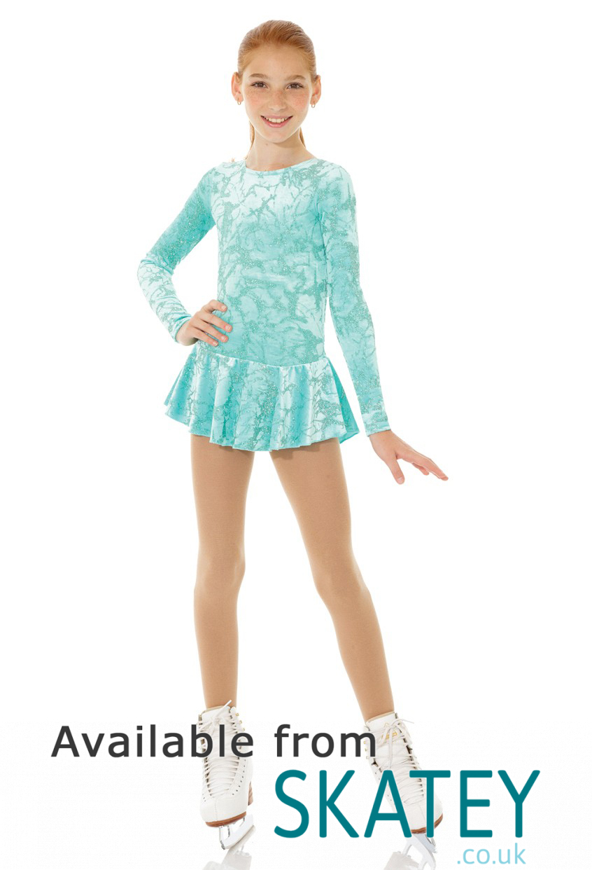 Ice Fairy Girls Figure Skating Dress From Skatey.co.uk