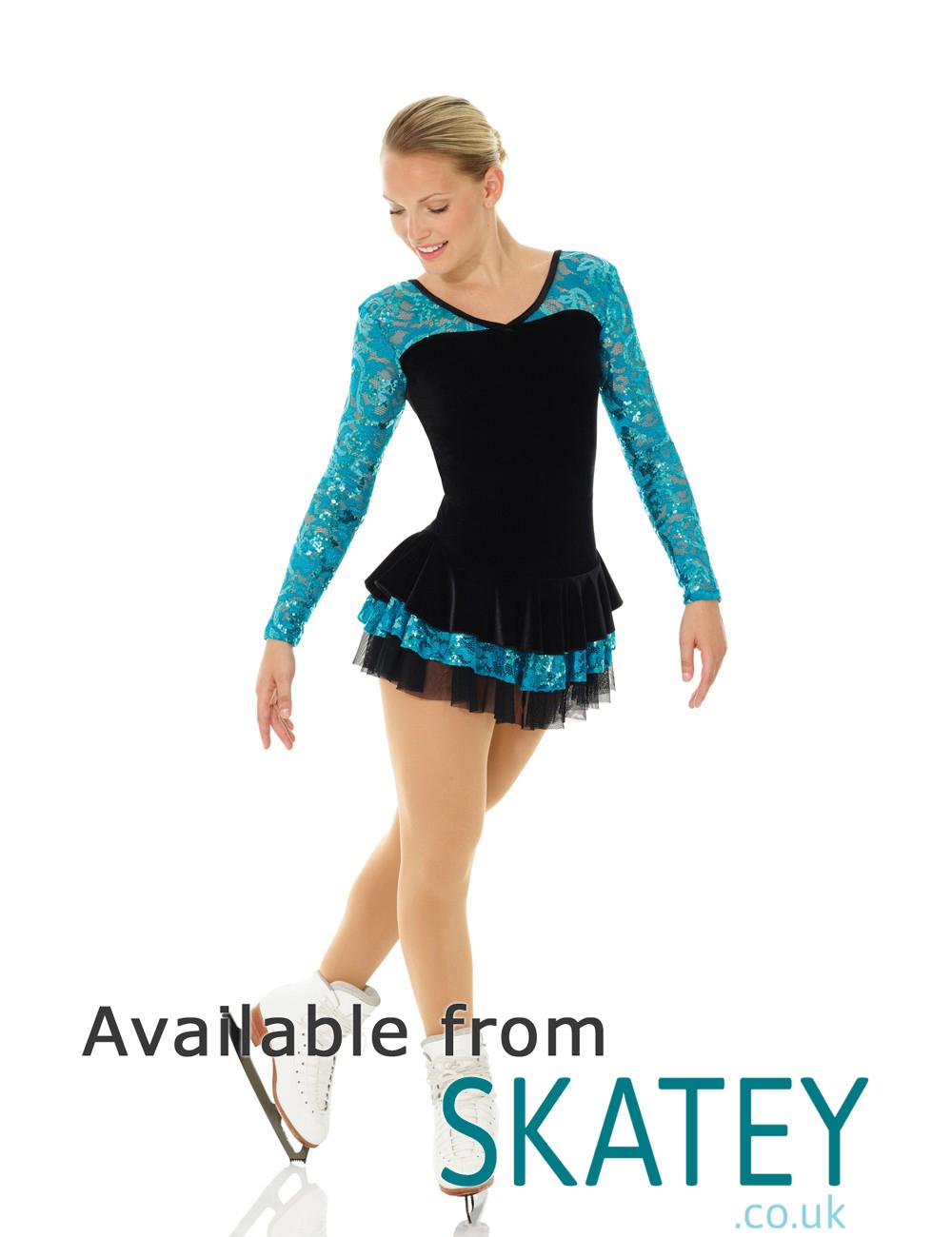 Mondor Glitter Lace Skating Dress From Skatey co uk